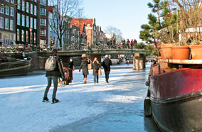 Get cheapest airfares to Winter in Amsterdam