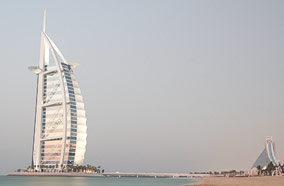 Get discount flights to Burj Hotel in Dubai