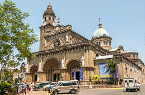 Get cheapest airfares to Cathedral Basilica in Manila