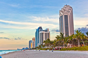 Get discount flights to Miami beach