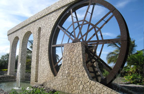 Find low fare tickets to Water wheel at Rose Hall Shops in Montego Bay