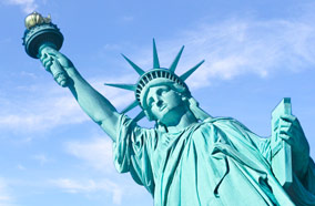Get discount flights to Statue of Liberty in New York City