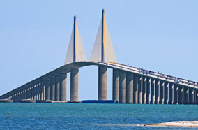 Get cheapest airfares to Sunshine Skyway Bridge in Tampa
