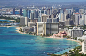Find low fare tickets to Beach of Waikiki in Honolulu