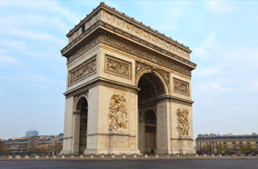 Get discount flights to Arc de Triomphe in Paris