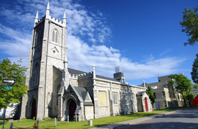 Find low fare tickets to Saint Paul Anglican Church in Kingston