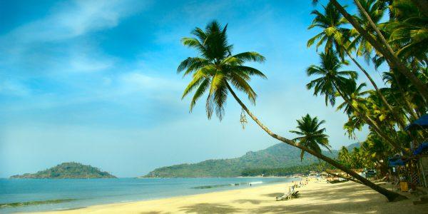 Enjoying kayaking holiday in Goa