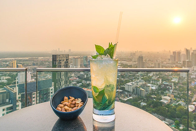 Book best rooftop restaurants With Fare Buzz