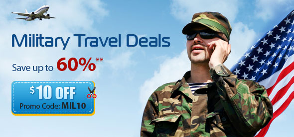 military airline tickets