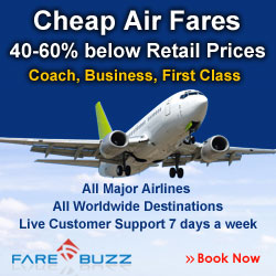 Airfares upto 60% off