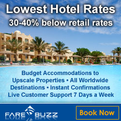 Hotels with upto 40% off