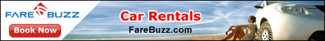 Farebuzz Car rentals Deals