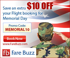 Fare Buzz Memorial Day