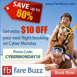 Fare Buzz Cyber Monday Deal