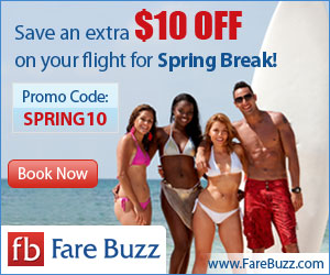 Fare Buzz Spring Break