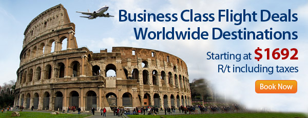 Business Class Flight Deals - World Wide Destinations