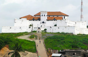 Find low fare tickets to Elmina Castle at Ghana in Accra
