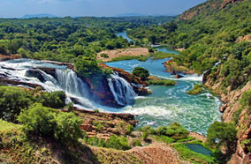 Find low fare tickets to Waterfall in Crocodile river in Johannesburg