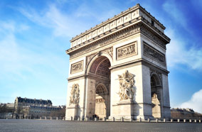 Find low fare tickets to Arc de Triomphe in Paris