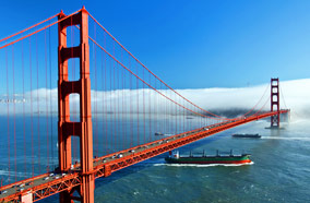 Get discount flights to Golden gate bridge in San Francisco