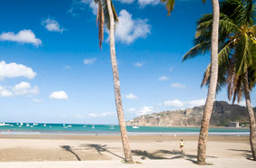 Get discount flights to Beach in San Juan