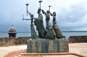 Find low fare tickets to La Rogativa statue in San Juan