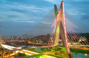 Get discount flights to Most famous bridge in Sao Paulo