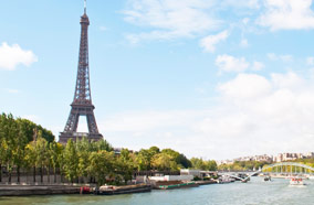 Find low fare tickets to Eiffel Tower in Paris