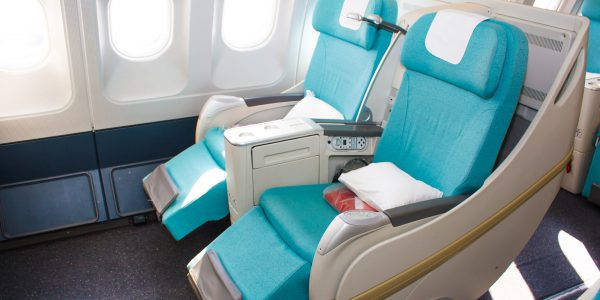 The Transformer Seat that Converts Economy to Business Class