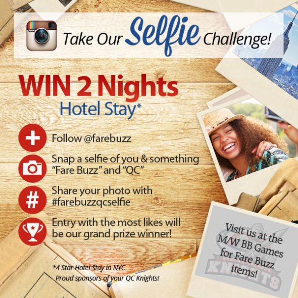 Fare Buzz Selfie Challenge