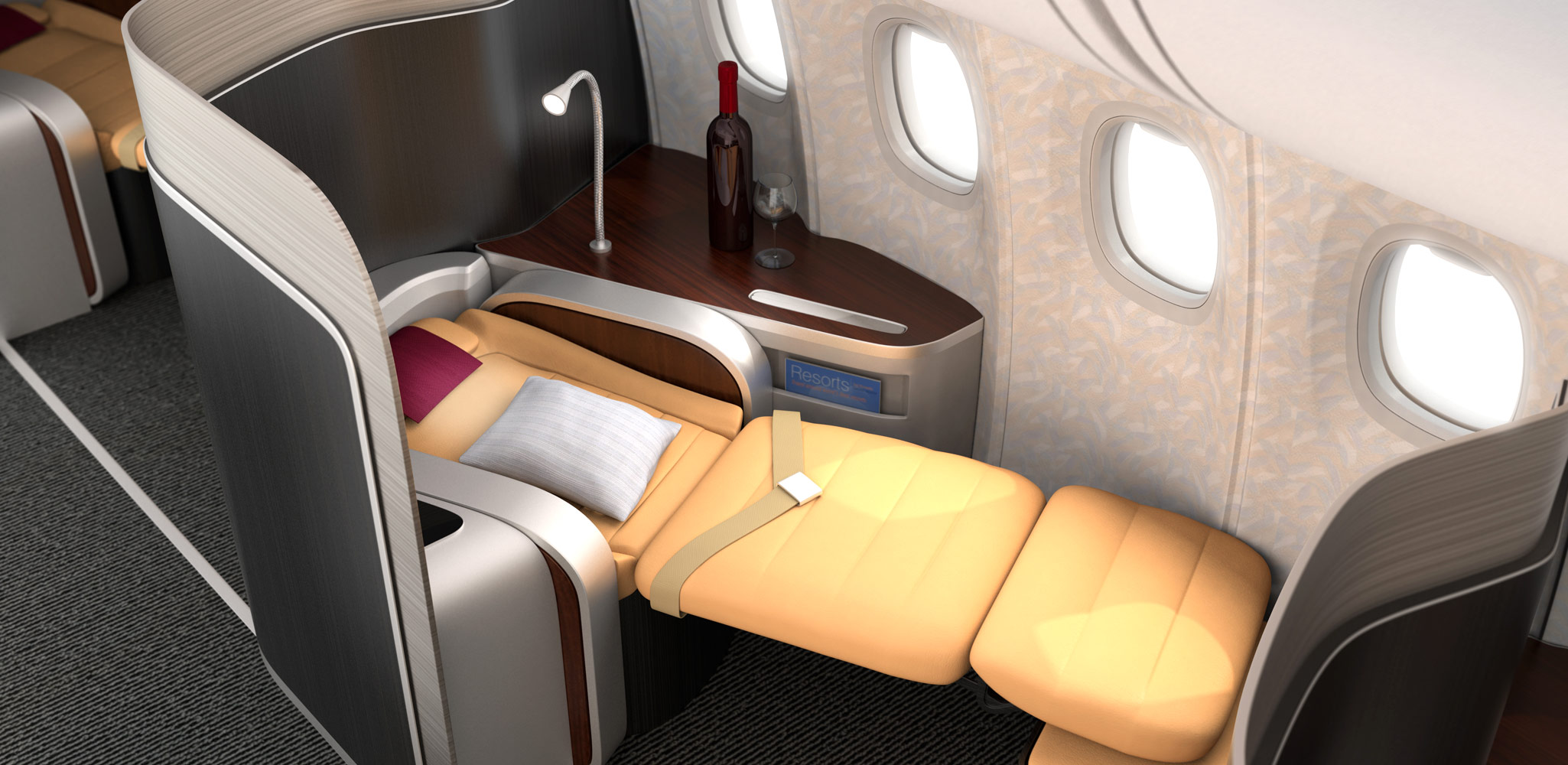travel in comfort in Business Class