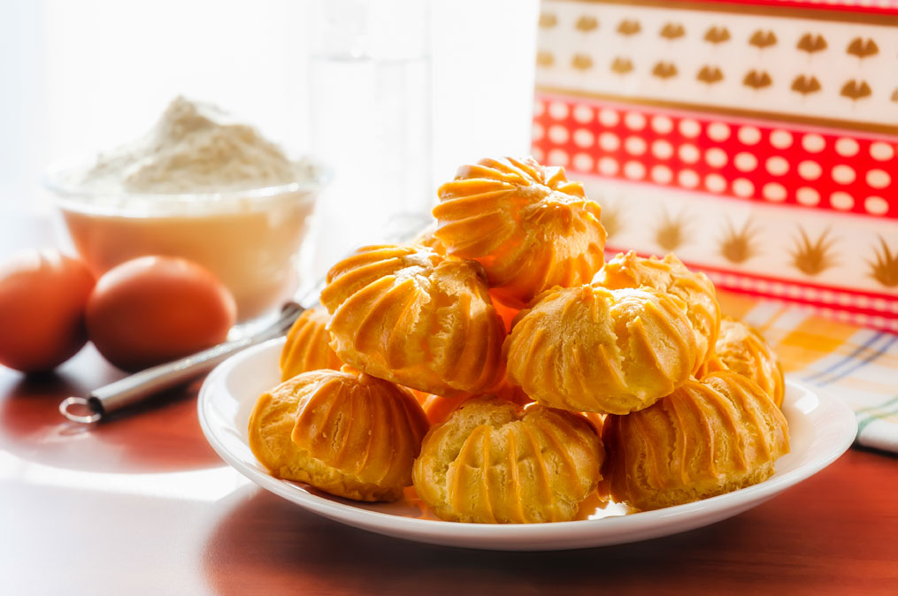 Hong Kong Food Egg puffs