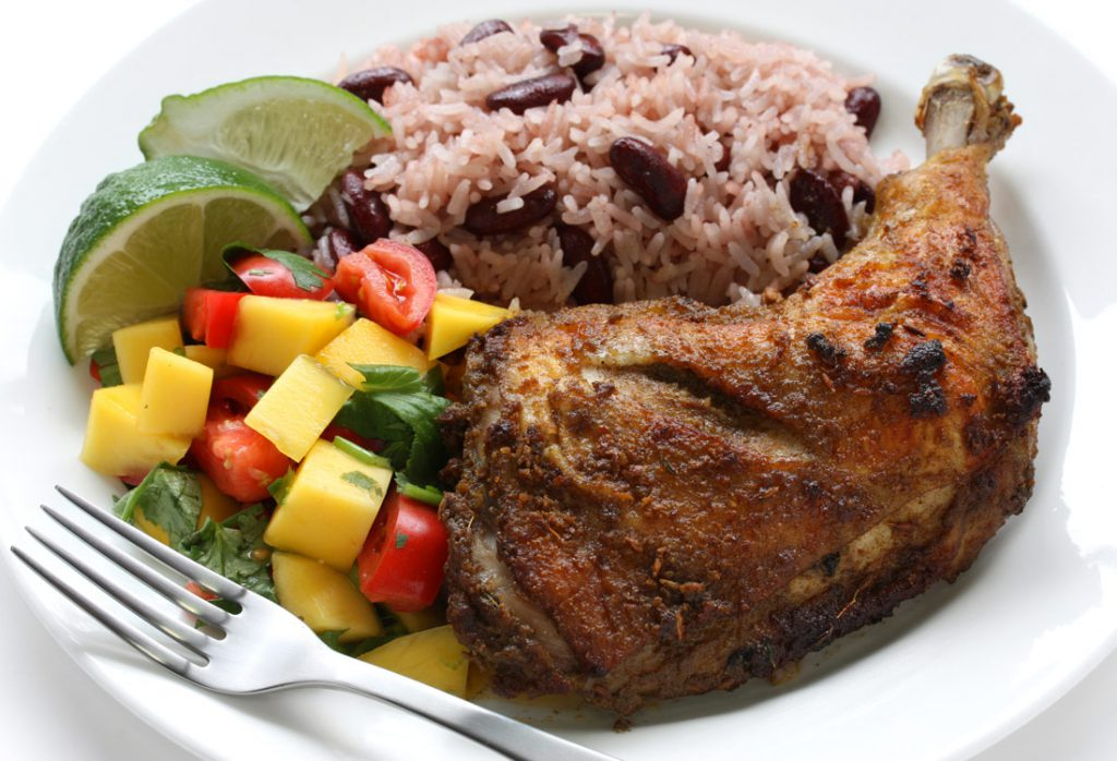 Jerk-chicken