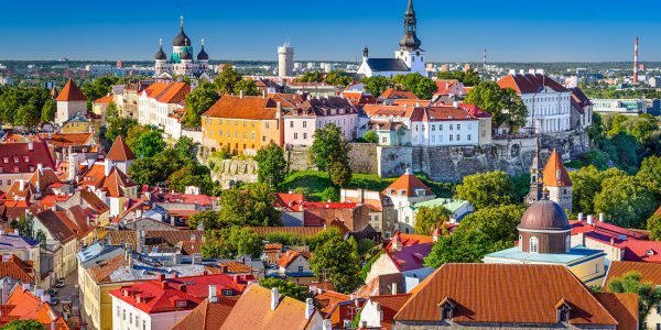 Take a Ferry to the Medieval City of Tallinn, Estonia