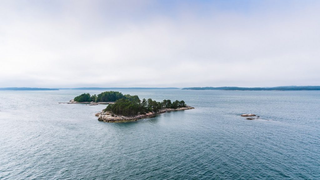 Finnish archipelago between Turku and Marienhamn.