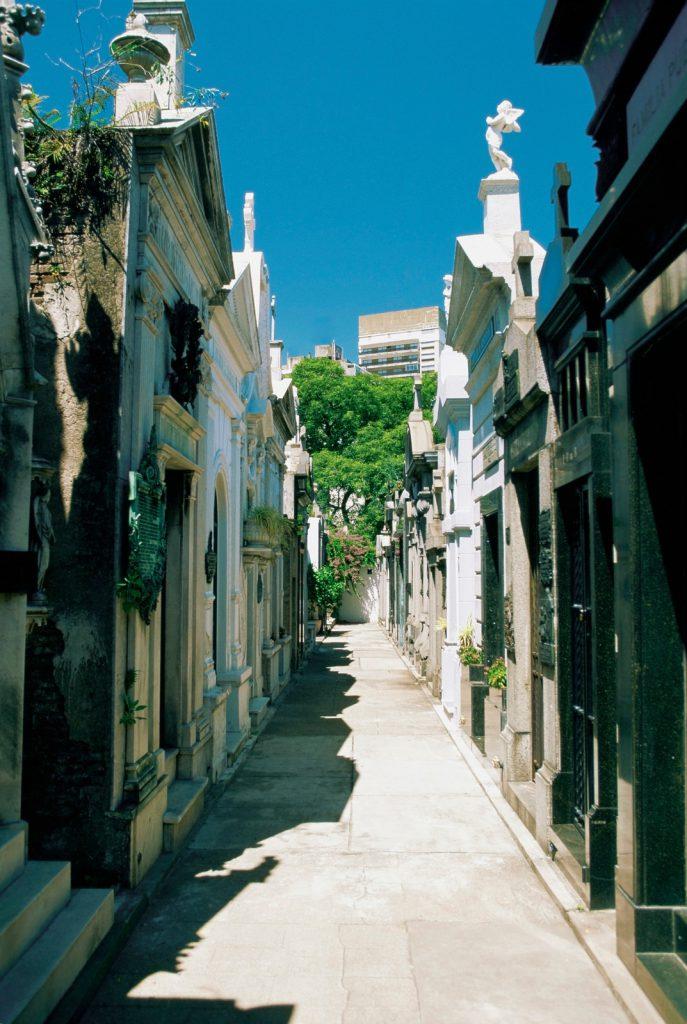 Cemetery of Recoleta, Buenos Aires, Argentina